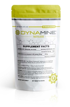 Dynamine (Methylliberine) Powder - NEW Tasteless Formula